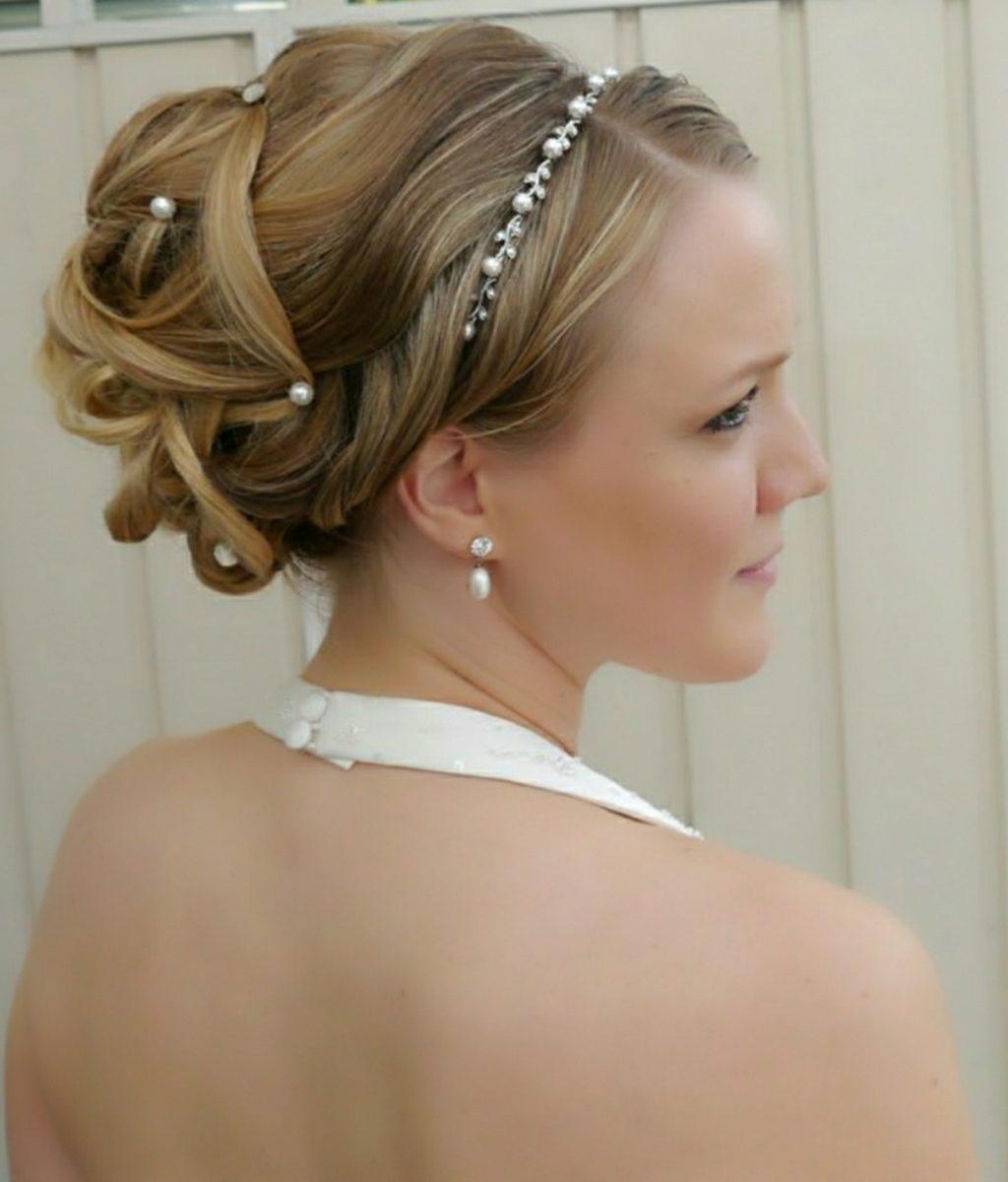 8b6fbe7caa85 Exampel på Bruduppsättning/ Håruppsättning/ Hairstyle/Hair Up Do/ Frisyr